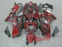 avatar kit - Wine red with skull Avatar Injection Fairings Bodywork kit Suzuki GSXR1000 OEM