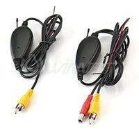 Wholesale car GHZ RCA Wireless Transmitter Receiver for Rear Reversing Camera Monitor