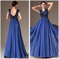 Cheap Reference Images Prom Evening Gowns Best V-Neck Chiffon Mother The Bride Dresses