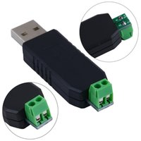 Wholesale 1200m max Communication New USB to RS485 Adapter Converter Support Win7 XP Vista Linux Mac OS