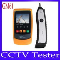 Wholesale CCTV tester GM61 with wire tracker and LCD
