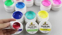 Wholesale Colors Pure Color Gel ml Each pack Product COCO For Nail Art Salon Beauty Desgin amp Beauty High Quality