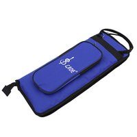 Wholesale Professional LADE Thicken Padded Drum Stick Bag Case Water Resistant Oxford Cloth with Shoulder Strap durable solid material