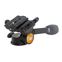 aluminum rocker arms - QZSD Q08 Tripod Ball Head way Fluid Head Rocker Arm Video Tripod Ball Head Quick Release Plate Tripod Accessories