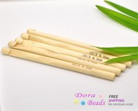 Wholesale Bamboo Crochet Hooks needle US Size mm cm Knitting Needles sold per packet of