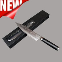 Wholesale new VG10 handle damascus knife inch chef knife layers damascus steel kitchen knives cooking tools