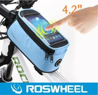Wholesale ROSWHEEL quot Phone Tube Wrapped Explosion Models Touch Phone Bag New Listing Bicycle Tube Package Colors