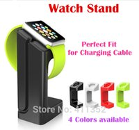 Wholesale Latest Product for Apple Watch Stand i Watch Stand Bracket Docking Station Charger Holder for Both mm and mm