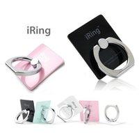 alloy aluminium grip - TOP iRing Universal Mobile Phone iRing Holder Hook Car Holder Metal Ring Stand Holder Finger Grip Stand