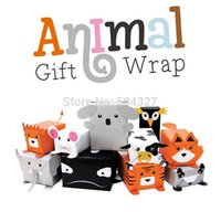 Wholesale Set Animal Gift Wrap DIY Wrapping Paper Printed Gift Paper