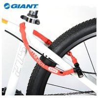 abus lock - GIANT Bicycle Lock Joint Giant Abus Chain Lock Anti Theft Mountain Bike Steel Cable Lock Bicycle Accessories mm Colors