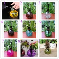 Wholesale Colors Zakka Vintage glass water cans garden tools pressure sprayer plastic nozzles watering cans decoration sprayers Shower MINI Equipments