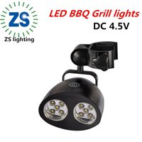 bbq grill lamp - BBQ grill light Barbecue Grill Light with Super Bright LED Lights Handle Mount BBQ Light for Grilling At Night outdoor tent lamp