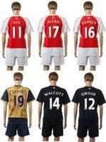 sports jerseys - Arsenal home red soccer uniform away gold thai quality designer soccer jerseys adult s athletic outdoor tracksuit men s sports uniform sets