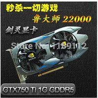 Wholesale graphics card GTX750ti G ddr5 High frequency high end independent games computer graphics video card
