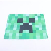 Wholesale 20pcs Minecraft Creeper Face Mouse Pad Mousepad