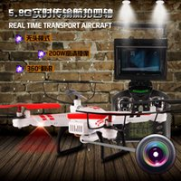 No Brand lcd monitor - WL WLtoys V686 V686G FPV Helicopter G Headless Mode CH Axis Drone RC Quadcopter with Camera LCD Monitor One key return Toys New