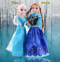 Wholesale 2015 New Cheap Frozen Doll Frozen Plush Toys cm Princess Elsa Anna Plush Doll Kids Cartoon Dolls For UK American Girls Christmas Gifts
