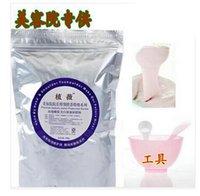 Wholesale 500 g véritable Rose visage blanchissant masque pour salon de beauté bricolage visage et corps masque hydratant poudre douce
