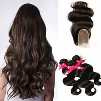 alice hair - Brazilian a virgin hair and closure Bundles With Closure Human Hair Weave Brazilian Body Wave With Lace Closure Alice Queen Hair