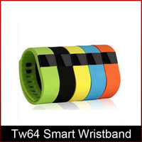 Wholesale Fashionable TW64 FITBIT wristband Smart Band Fitness Activity Tracker Bluetooth Smartband Sport Bracelet android ios DHL freeshipping