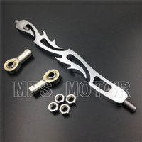 Wholesale Motorcycle For Harley Softail FXDWG Dyna Wide Glide FLHR FLHT CHROME Flame Shift Linkage