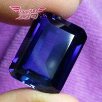 Wholesale Unheated Blue Sapphire Cushion Shape Top Quality VVS Gem MM
