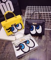 sequence - New Arrival Candy Color Girls Small Sequence Eye Handbags Teens Crocdile Shoulder Bag Kids Children Bags Kid Handbags