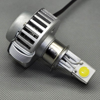motorcycle headlamp - Factory Outlet New W LM H4 H6 H7 H11 V Hi Lo LED Motorcycle Headlight Bulb Headlamp Fit Most Motorbike