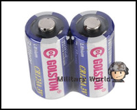 Wholesale 4 CR123A Lithium Batteries CR123 CR A A Lithium Battery for Surefire Nitecore Pelican Flashlight order lt no tra