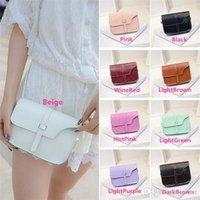 Wholesale New Arrivals Women s Ladies Satchel Crossbody Tote Handbag Shoulder Messenger Bag PU Leather Size CM Fashion BX191