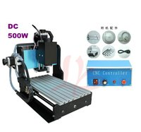 Wholesale 110 V Engraving machine CNC Z D500W spindle Mini milling machine with limit swich