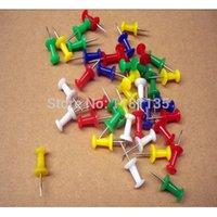 cork board - 50 New Push Pins Assorted Coloured Making Thumbtacks Notice Cork Board Office School
