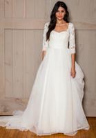 beach wedding dresses davids bridal - 3 sleeves lace wedding dresses with tulle skirt davids bridal gowns strapless romantic garden wedding gowns
