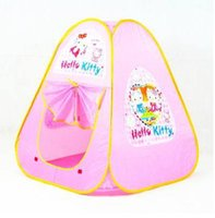 Cheap Free Shipping Lovely Pink Children's Tent For Sale, game house outdoor fun & sports kids tent play house