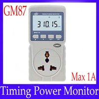 Wholesale Electrical Power Adapter Plug GM87 with Alarm threshold MOQ