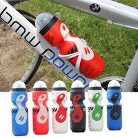 Wholesale Portable PE Plastic Outdoor ml Mountain Bike Bicycle Cycling Sports Water Bottle with Straw Lid