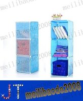 plastic lattice - lattice receive ark simple wardrobe Children s ark DIY magic bookcase more color more choose MYY11098A