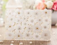showers - Custom White Floral Wedding Invitation D White Flower Wedding Invitation White Flower Bridal Shower Invitation