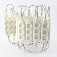 Wholesale 12V w pc Waterproof LED Module Injection Module Strip Light for Lighting Words Billbords Ads Backlights Modules