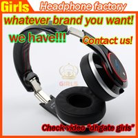 Wholesale New arrivel Buletooth Over Ear SMS Audio SL600 wireless Sync by Cent Headphone DJ PRO Stereo Wireless Headphones by Hifi Headset