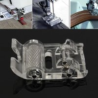Wholesale new modern and portable design mini low shaft roller Presser Foot sewing machine household sewing machine foot leather HO876807