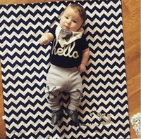 bebe clothing - Fashion baby clothing baby boy clothes Short T Shirt Long Pants bebe baby boy newborn clothing set hight quality