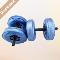 Wholesale New Creation Sport Product Water Poured Dumbbell By DHL pairs