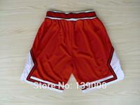 basketball short pants - Derrick Rose Basketball Shorts Pants New Rev Embroidery Logos Basketball Jersey All Colors