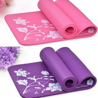 Wholesale fashion extra thick NPR Yoga mat pad non slip durable color mm