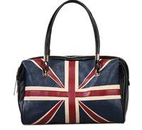 big bags uk - New Fashion Women s British Style Union Jack UK Flag Leather Handbag Shoulder Big Bag in Stock Vintage Messenger Bag