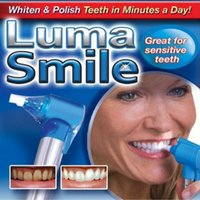 Wholesale Luma smile Teeth Whitening Burnisher Polisher Whitener Stain Remover Health Care White Rubber Head Tooth DHL free