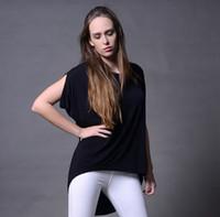Cheap 2016 Summer Women's Modal Casual Tees Fashion Lady Jumper Tops Loose T-shirts Ruffle Sleeve tee women's clothing