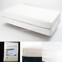 Wholesale Russian Mattress X190cm Size Smooth Waterproof Mattress Protector Cover For Bed Wetting And Bed Bug